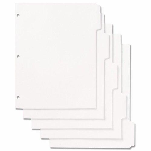 SKILCRAFT Tabbed Index Sheets Set