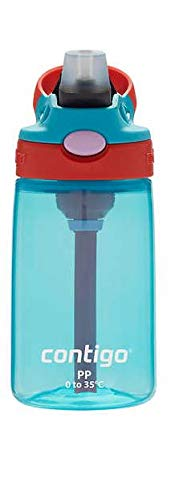 Contigo Kids Autospout Gizmo Water Bottle, 14oz (SkyBlue)