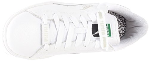 Puma x Trapstar Men Basket Weiß (weiß / glacier grey) Weiß