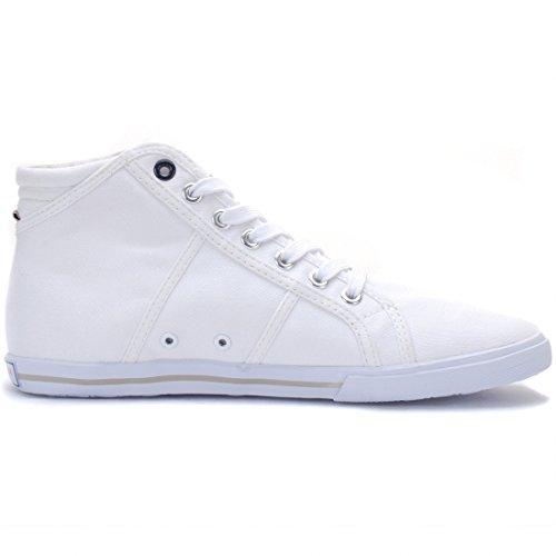 US POLO - Fashion / Mode - Hi Canvas White Wn - Blanc