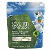 Seventh Generation  Free and Clear Autodish Pack 45 Count