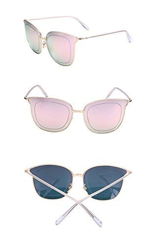 grande Gafas X226 amp;Gafas de de sol marco cine color C protecciónn amp; Lente Gafas D personalizadas de sol reflectante de de Color p8CqnwA