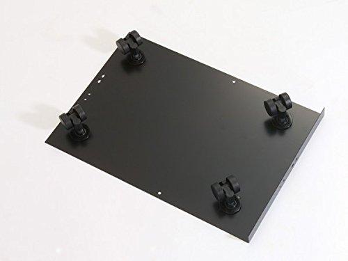 Bisley Caster Base for Steel Under Desk Multidrawer Cabinet, Black (MDCAS) by Bisley