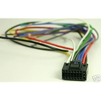 harness kenwood wiring kdc 3021 kenwood excelon kdc x994 wiring diagram amazon.com: kenwood car stereo head unit replacement ... #12