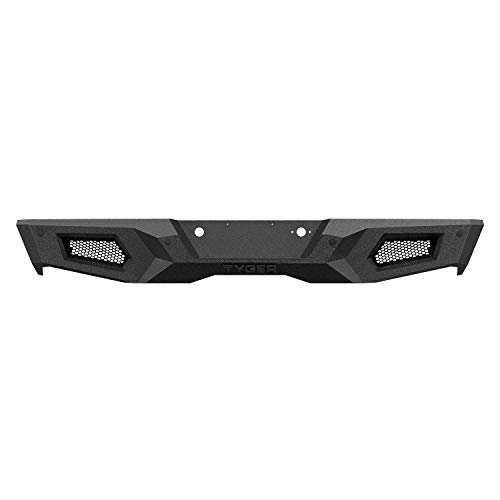 Tyger Auto TG-BP9C80498 Rear Bumper Assembly Textured Black Compatible with 2007-2018 Chevy Silverado 1500/GMC Sierra 1500