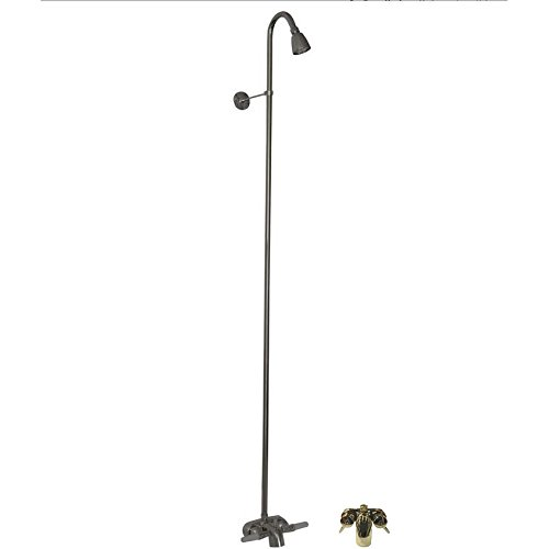 Barclay 4195-PB Washerless Diverter Bathcock with Metal Lever Handles, 62
