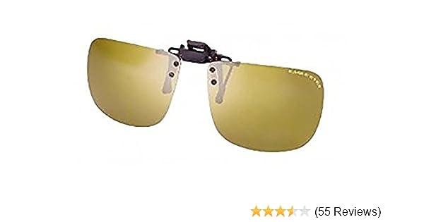616d77ceb02 Amazon.com  Eagle Eyes Clip On Sunglasses (Universal)  Kitchen   Dining