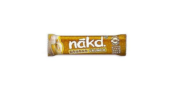 NAKD crujido de plátano (Banana Crunch) 30g Sin Gluten (Pack de 2): Amazon.es: Alimentación y bebidas