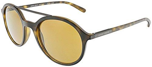 GIORGIO ARMANI AR8077  50mm Polarized Sunglasses MATTE HAVANA -