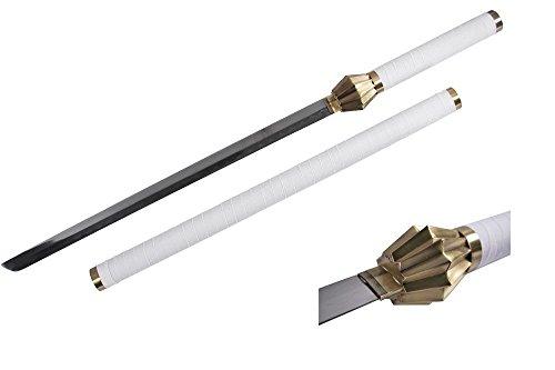 "Kenpachi Zaraki Cosplay - Nozarashi 43"" Samurai Katana Sword - Bleach Anime - Japanese Ninja Replica Set"