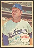 #6: 1967 Topps Pin-Ups (Baseball) Card# 16 Don Drysdale of the Los Angeles Dodgers Good Condition