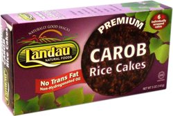- Landau Kosher Premium Carob Rice Cakes 6 Individually Wraped Cakes 5 oz
