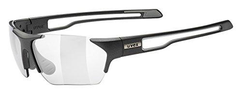 Uvex Sportstyle 202 Small Variomatic Sunglasses Grey Matte, One Size - - Uvex Sunglasses Photochromic