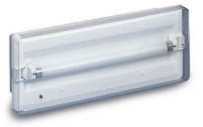 Plafoniere Con Luce Di Emergenza : Beghelli lampada di emergenza plafoniera stagna w h cod