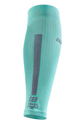 CEP Women's Compression Run Sleeves Calf Sleeves 3.0, Ice/Grey II by CEP (Image #2)