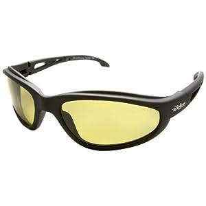Edge Eyewear TSM212 Dakura Polarized Safety Glasses, Black with Yellow Lens