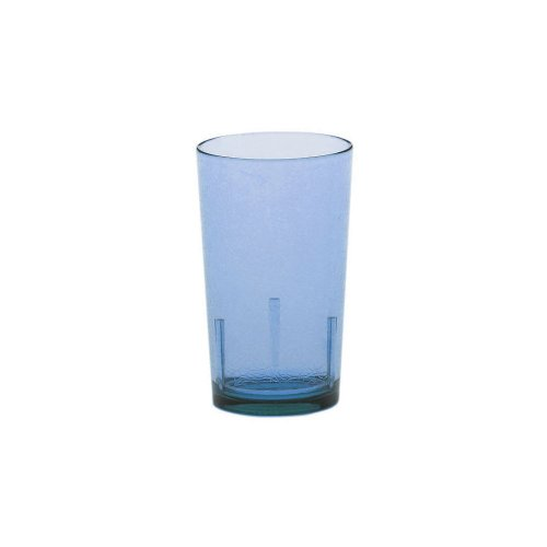 Cambro D12608 Sapp Blue Crackle Finish 12 Oz Del Mar Tumbler - 36 / CS