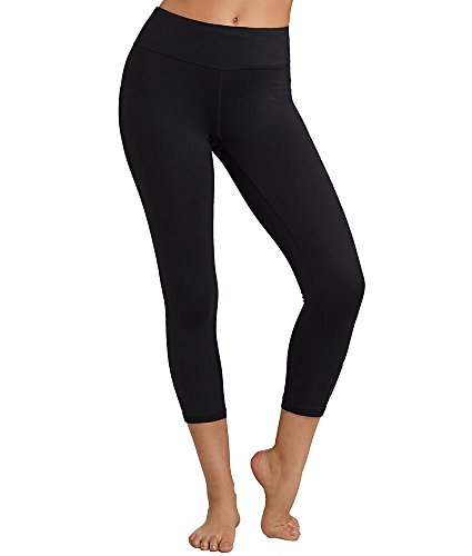 Calvin Klein Performance Logo Cropped Tights, L, Black