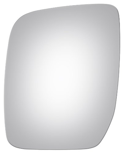 Flat Driver Left Side Replacement Mirror Glass for 2008-2010 Ford Truck Econoline ()