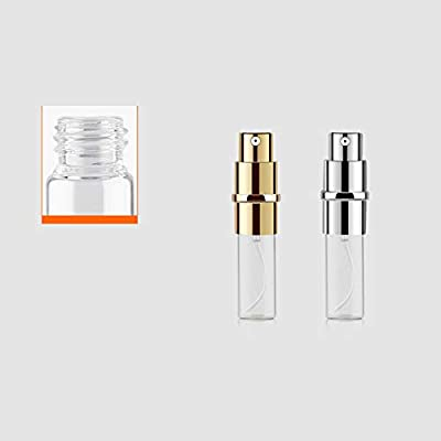 Atomizador de Perfume,Morbuy Mini Portátil Vacía Pulverizador Frascos Dosificador Recargable de Perfume de Afeitado con Bomba de Embudo y Pipeta para Viaje en Bolso (5ml, 6 piezas): Amazon.es: Belleza