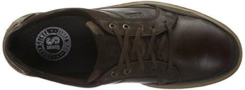 Josef Seibel Rudi 31, Zapatos de Cordones Derby para Hombre Marrón - Braun (Moro/Weiss 337)
