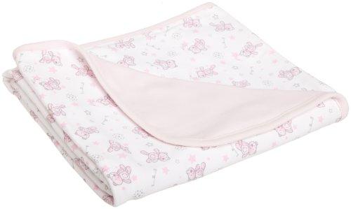 ABSORBA Baby-Girls Newborn Sweet Bear Printed Blanket