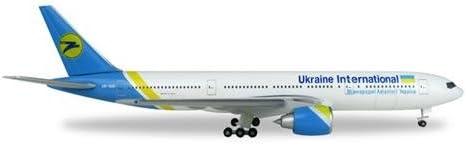 /UR Goa Herpa 531122/Vehicle Ukraine International Airlines Boeing 777/200/