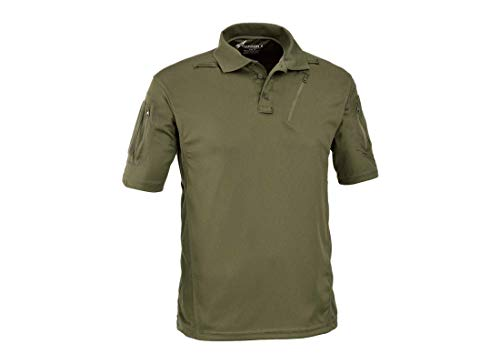 DEFCON 5 - D5-1726 Advanced Tactical Polo Short Sleeves OD Green L ...