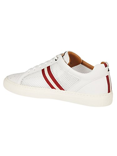 Blanc Bally Baskets Cuir Homme 6217517 qaIraE