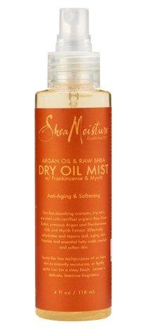 (Shea Moisture Argan Oil & Raw Dry Mist for Unisex, 4 Ounce)
