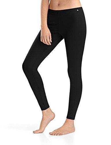 Para Entrenamiento Mujer Hanro Balance Negro De 0019 Mallas black Leggings qnFSxgX