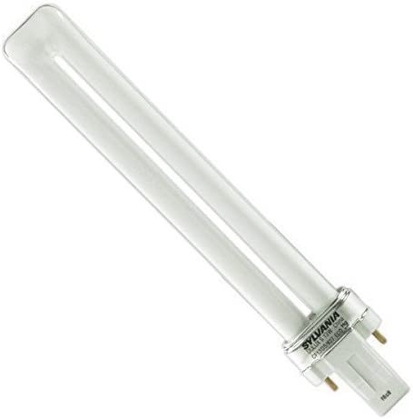 Sylvania 21117 CF13DD//827//ECO 13-Watt 2700K 2-Pin Double Tube Compact Fluorescent Lamp 10 Pack