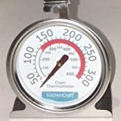 Kitchencraft Stainless Steel Oven Thermometer 6 5 X 8 Cm