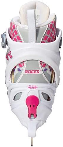 Roces Girls Moody Ice Girl Beginner Figure Ice Skates Italian Pink 450655 00001