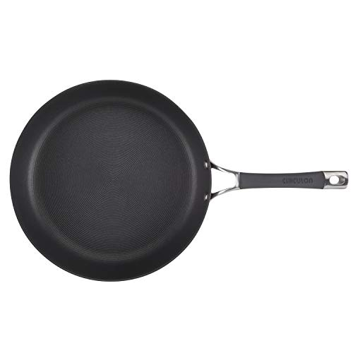 Circulon 83907 12'' Covered deep Hard Anodized Aluminum Skillet 12 Inch Gray by Circulon (Image #3)