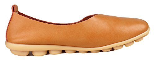 Camel One Kunsto Buy Shoes Flat size Loafer Leather Casual Women's down wq0wvBS