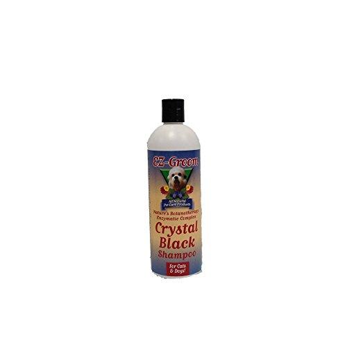 Ez Groom Crystal - EZ Groom Crystal Black Dog Shampoo 16 ounces - Concentrated