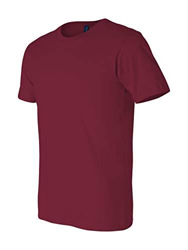 Bella + Canvas Unisex Jersey Short Sleeve Tee (Cardinal) (M)
