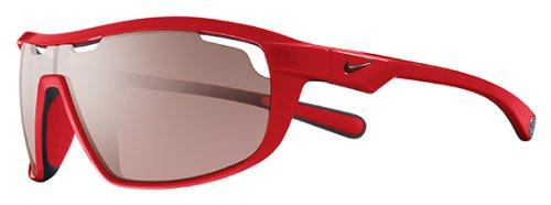 Nike Road Machine E Sunglasses, Hyper Red/Matte Black, Max Speed Tint - Around Wrap Nike Sunglasses