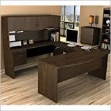 Best  - Bestar Harmony U-shaped Workstation, Chocolate Review
