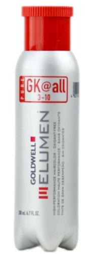 Goldwell Elumen High-Performance Hair Color, Gkatall Pure, 6.8 ()