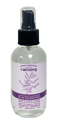 Everyday Aromatherapy Calming Pillow and Room Spray - Lavender Chamomile - Calms Your Mind - Uplifts your senses and leaves a lasting fragrance
