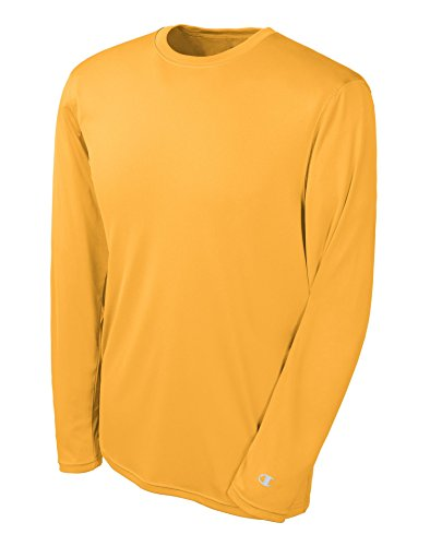 Champion Mens Double Dry Long Sleeve Tee