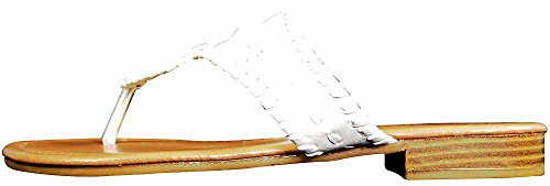 Slip on Pierre White Dumas Women's Rosetta 1 Sandals HWn8Ccf