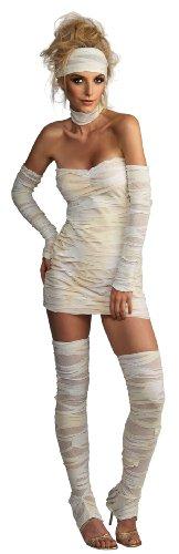 Rubie's Costume Women's Adult Mummy Costume, Whites, (Womens Mummy Halloween Costumes)