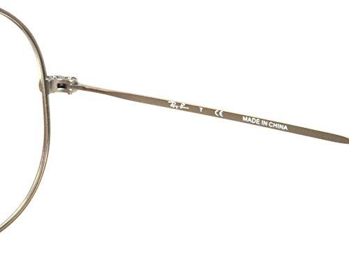 6af82652d50f Ray-Ban Aviator Eyeglasses RX6049 Matte Gunmetal RX Ready Frame RB 6049 2620  55MM