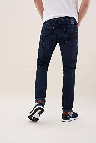 Trama Slender Carrot Slim Colore Azzuro Pantaloni Salsa Con ZXq1n5