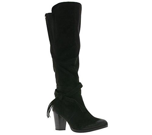 Bottes Noire Tailor Tom Hautes Femmes avec pour glissière à Fermeture mi v54wa4q7