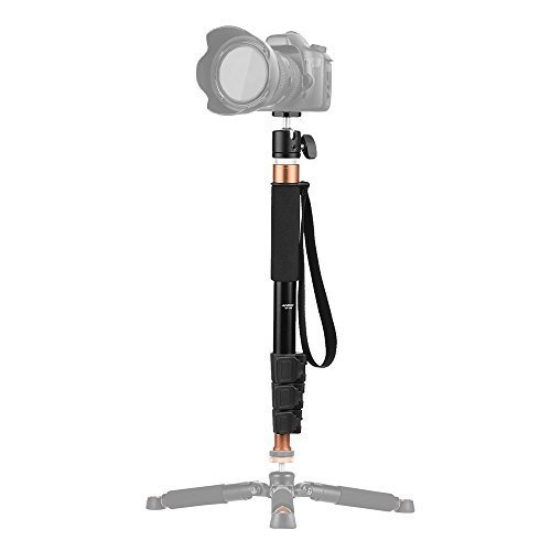 Andoer 4 Section 37.2 Inch Aluminum Monopod