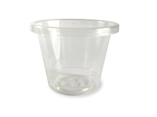 World Centric 1 Ounce PLA Souffle Cups (Case of 3000)